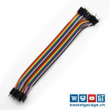 Dupont Kabel M-M 20cm 20 Stück