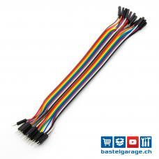 Dupont Kabel M-F 20cm 20 Stück