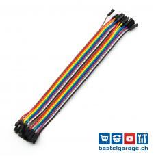 Dupont Kabel F-F 20cm 20 Stück