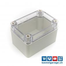 110x80x70mm IP67 Kunststoffgehäuse Transparent