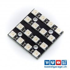 4x4 WS2812B RGB LED Matrix - 16Bit
