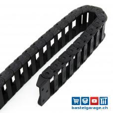10x30mm Nylon Kabelschlepp 1m