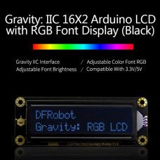 Gravity LCD-Display 16x2 I2C RGB Hintergrundbeleuchtung