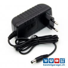 12V DC 2000mA Netzteil AC/DC-Adapter 5.5mm/2.1mm Stecker
