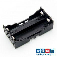 2-Fach 18650 Batteriefach / Batteriehalter