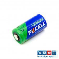 3V Lithium Batterie CR123A 1500mAh