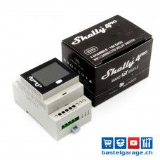 Shelly 4pro WiFi Switch 4-Kanal mit Energiemessung