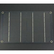 5V 1A monokristallines Solar Panel 6W mit USB Anschluss