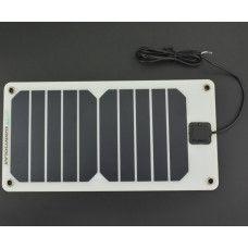 5V 1A Semi flexibles monokristallines Solarmodul 5W