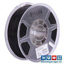 PLA+ Filament 1.75mm Schwarz 1Kg eSun