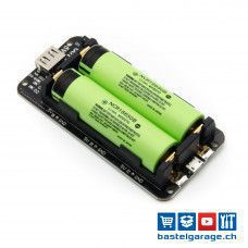 18650 Lithium Batterie Shield V8