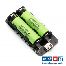 2x18650 Lithium Batterie Shield 5V 3A / 3V 1A