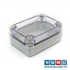 110x80x45mm IP67 Kunststoffgehäuse Transparent