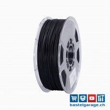 PETG Solid Filament 1.75mm Schwarz 1Kg eSun