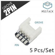 M5Stack Adapter Grove auf Lötpin 5 Stück