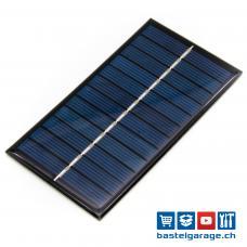 Solarzelle 6V 165mA 1W