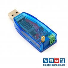 USB Spannungswandler 1-24V DC 3W