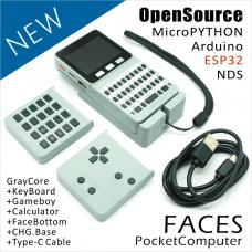 M5 Faces Pocket Computer Kit mit Keyboard/Game/Calculator