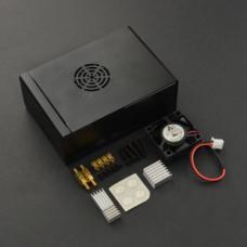 Raspberry Pi 4 Metallgehäuse mit Kühlkörper und Silent Lüfter