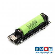 1x18650 Lithium Batterie Shield 5V 3A / 3V 1A