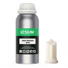 Resin Water Washable Weiss 0.5Kg UV 405nm eSun