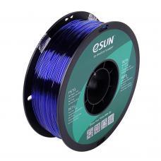 PETG Blau Transparent Filament 1.75mm 1Kg eSun