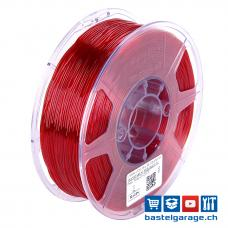 TPU-95A Rot Transparent elastisches Filament 1.75mm 1Kg eSun