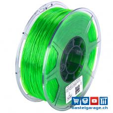 TPU-95A Grün Transparent elastisches Filament 1.75mm 1Kg eSun