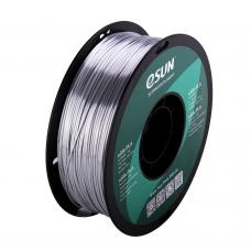eSilk-PLA Silber Filament 1.75mm 1Kg eSun
