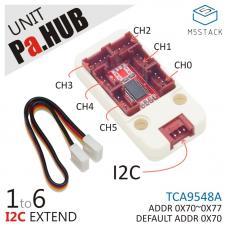 M5Stack Pa.HUB I2C Erweiterung Unit 1 auf 6