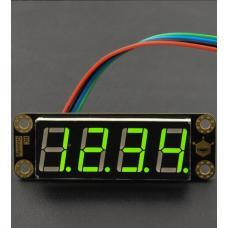Gravity grünes 4-Digit 7-Segment LED-Display