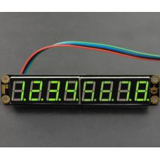 Gravity grünes 8-Digit 7-Segment LED-Display