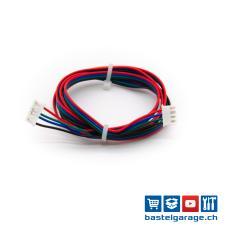 6p PH2.0 auf 4p XH2.54 Schrittmotor Kabel 1m Nema17