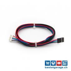 6p PH2.0 auf 4p Dupont2.54 Schrittmotor Kabel 1m Nema17