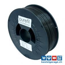 PLA Schwarz Filament 1.75mm 1Kg purefil