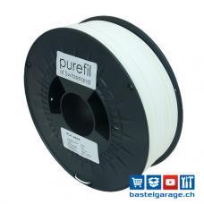 PLA Weiss Filament 1.75mm 1Kg purefil