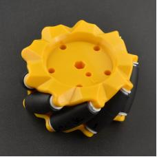 Linksdrehendes 80mm Mecanum Omni Wheel Rad