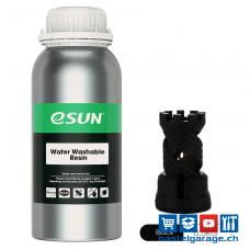 Resin Water Washable Schwarz 0.5Kg UV 405nm eSun