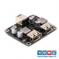 USB 2x QC3.0 Step-Down DC-DC Quick Charge Platine 6-32V DC