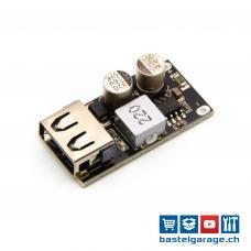 USB 1x QC3.0 Step-Down DC-DC Quick Charge Platine 6-32V DC