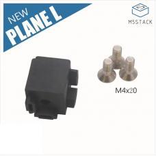 12 Stück 90° L Winkelverbinder für 1515 Aluminiumprofil M5Stack