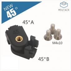 12 Stück 45° Winkelverbinder für 1515 Aluminiumprofil M5Stack