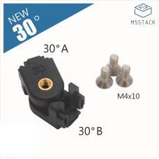 12 Stück 30° Winkelverbinder für 1515 Aluminiumprofil M5Stack