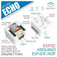 ATOM Echo Smart Speaker Development Kit