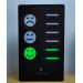 CO2-Ampel mit Smileys und Balkenanzeige