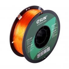 TPU-95A Orange Transparent elastisches Filament 1.75mm 1Kg eSun