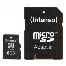 8GB MicroSDHC Card Speicherkarte Class 10 inkl. SD Adapter