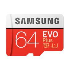 64 GB SAMSUNG MicroSDXC EVO Plus Class 10