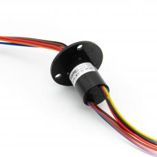 8P 10A Elektrischer Schleifring 250rpm