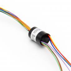 8P 1A Elektrischer Schleifring 250rpm